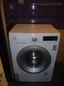 Сантехник по подключению стиральных машин