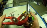 Как поменять кран буксу смесителя в ванной комнате