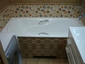 Установка ванны спб