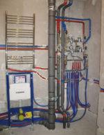 Поменять водопроводные трубы в квартире цена