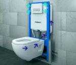 Навесная сантехника: удобно и практично