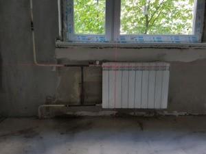 Демонтаж и монтаж радиатора