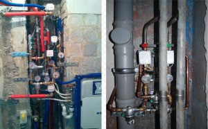Монтаж защиты от протечек воды