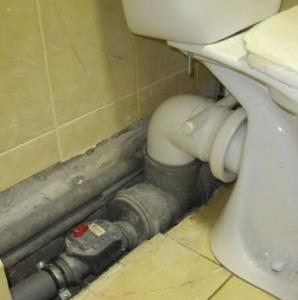 Устранить засор канализации