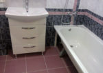 Штатное подключение ванны к канализации