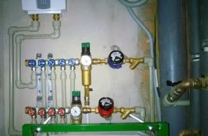 Установить механические фильтры