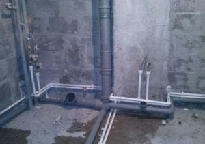 Замена труб канализации