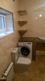 При сливе стиральной машины в ванной поднимается вода-причина