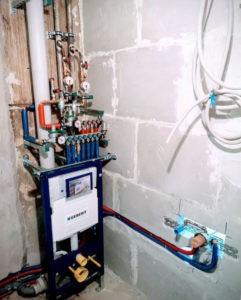 Ремонт водопроводных труб цена